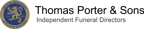 Thomas Porter & Sons Funeral Service Retina Logo